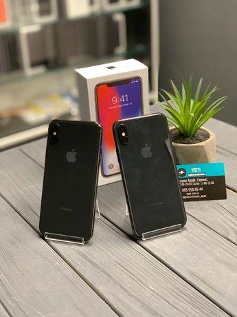 iPhone Х 64 / 256 гб Спейс грей. Черный! Магазин Vseti.com.ua
