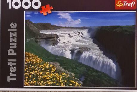 Puzzle 1000 elementów Trefl kompletne