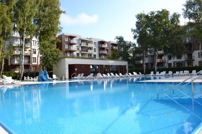 Apartament Kołobrzeg osiedle Polanki (z widokiem na basen).