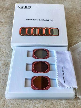 Набор ND +PL фильтров для DJI Mavic 2 Pro для квадрокоптера дрона 3 шт