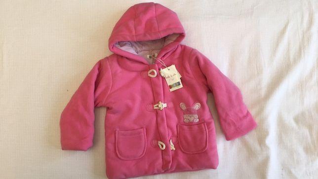 Куртка демисезонная на девочку 9 месяцев фирмы Melby i Coccoli Италия