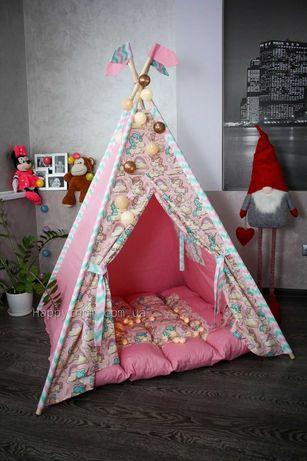 Вигвам ля девочки. Палатки для девочек. Высокое качество. Наличие!!