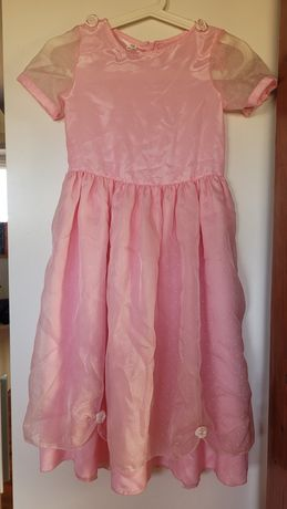 Różowa sukienka r. 134
