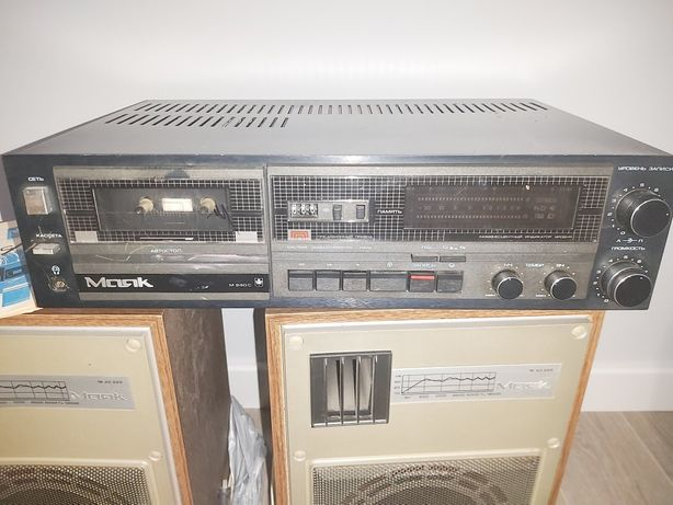 Магнітофон Маяк М 240 С з колонками (2 шт.)