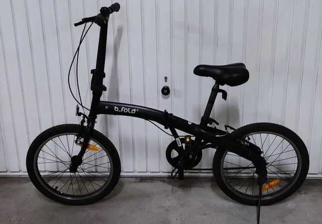 Bicicleta dobrável BTWIN BFOLD 3