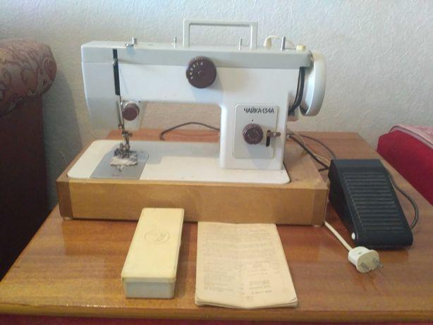 Швейная машинка Чайка 134 А с электроприводом