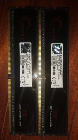Ram 16GB DDR4 2133MHz 2x8 G.Skill fortis