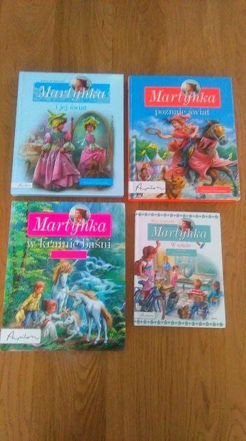 """książki """"Martynka"""""""