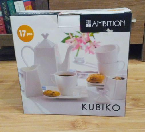 AMBITION KUBIKO zestaw serwis kawowy dla 6 osób 17EL
