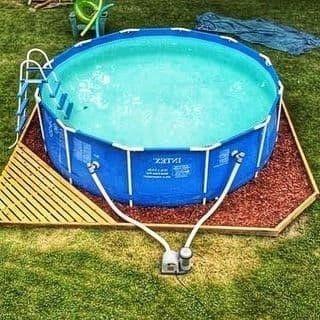 Круглый каркасный бассейн Intex 305х76с фильтр-насосом 1250 л/ч