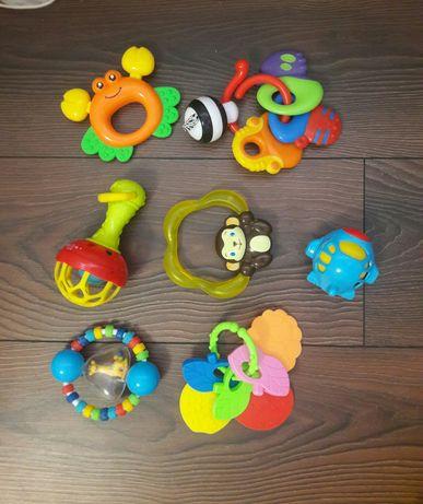 Погремушки, грызунки, игрушки