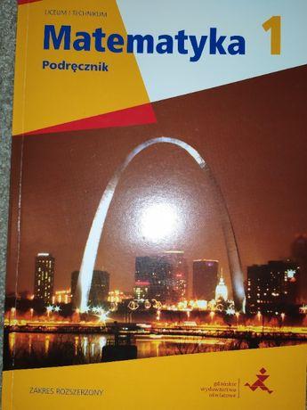 Matematyka 1 podręcznik rozszerzony GWO