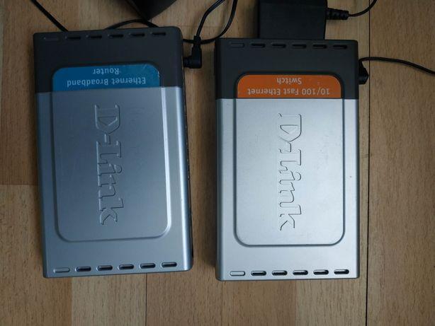 Коммутатор D-Link DES-1008D, маршрутизатор роутер свич