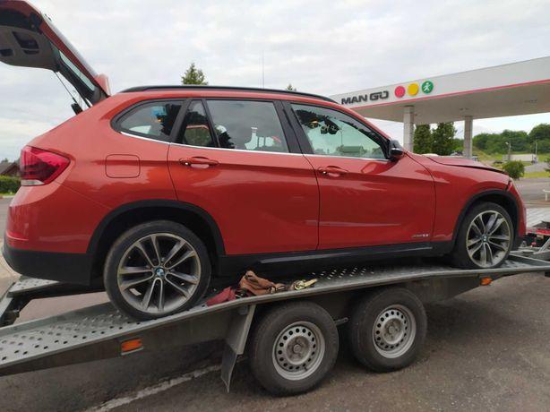 Разборка BMW X1 E84 запчасти N47 N20 двери рейлинги