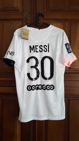 Envio grátis - PSG #20 MESSI - Ligue 1 - Tamanho S
