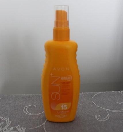 Spray do opalania spf 15 Avon Sun