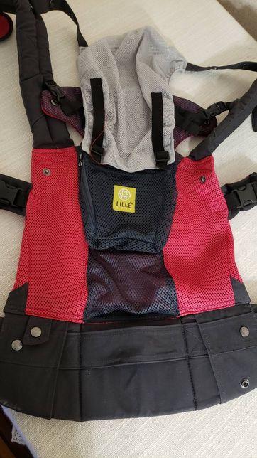 Эргономичный слинг-рюкзак эрго LilleBaby (США) 6 в 1