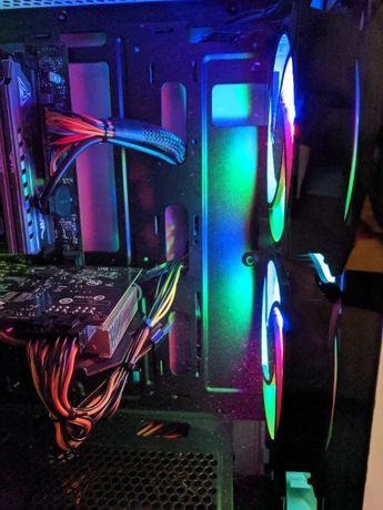 Игровой Компьютер /i3-10100f/gtx1050/16gb/s1200/120gb гарантия+подарок