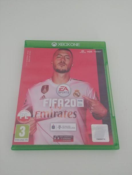 Gra FIFA 20 Xbox ONE wersja PL stan Idealny