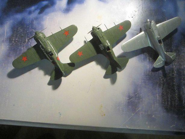 Продается собраная модель самолета 1/72 покраска кистью
