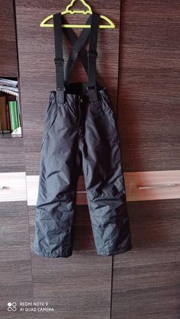Spodnie ocieplane kombinezon roz. 122/128