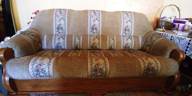 Sofa z systemem spania typu sedak (belgijka)