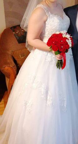 Suknia ślubna rozmiar 40,42