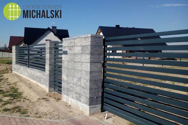 Ogrodzenia kompleksowo - przęsła, bramy, furtki palisadowe na wymiar