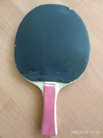 Ракетка для тенниса, пинг понга с накладками Yasaka Mark V б/у в хорош
