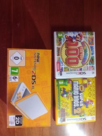 Nintendo 2Ds laranja