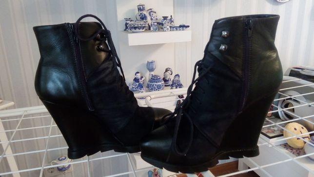 Женские ботинки на платформе 37 размера для модниц