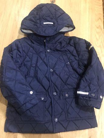 Pikowana kurtka chłopięca Endo 98 z odblaskami