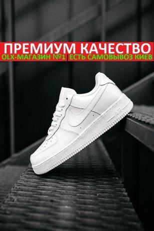 """Кроссовки Nike Air Force 1 '07 """"Full White"""" Мужские/Женские"""