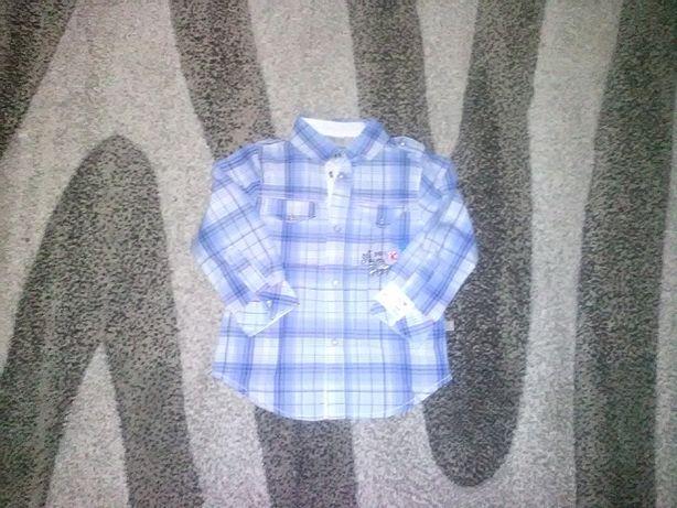 Koszula dla chlopca roz 86 / 18 m Kanz