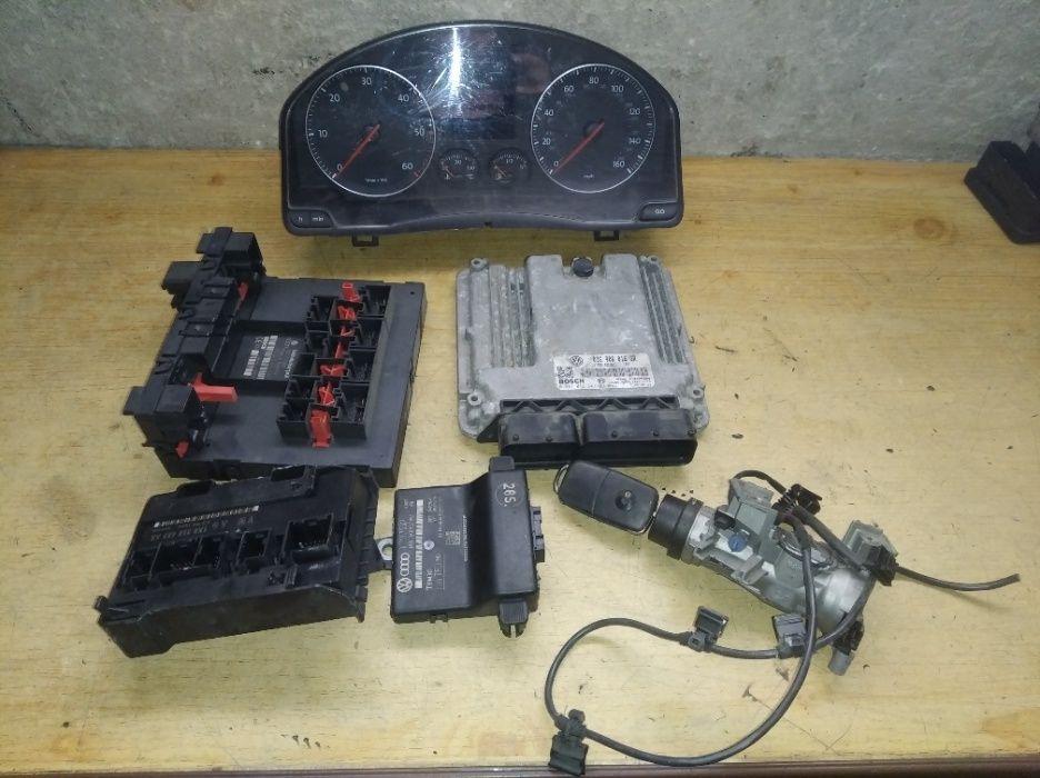 Golf 5 V Plus 1.9 105KM komputer zestaw startowy immo 03G.906.016GR Tuszyn - image 1