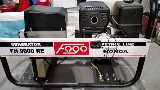Agregat prądotwórczy FH9000RE AVR 400 V z rozrusznikiem stan idealny