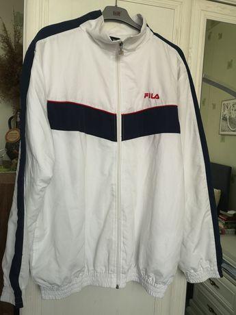 Fila kurtka biała  przejściówka wiatrówka XL