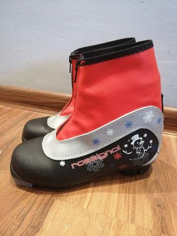 Dziecięce buty do nart biegowych Rossignol Snow Flake NNN rozmiar 34