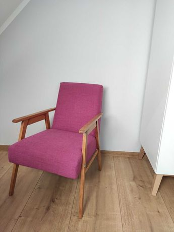 Fotel, krzesło PRL, vintage