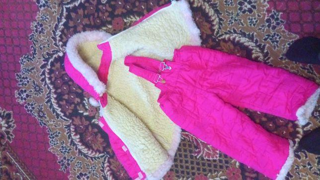курточка штаны комбинезон детский 3-4 годика