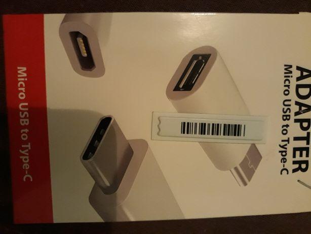 Adapter(przelaczka) z micro USB na USB type-C