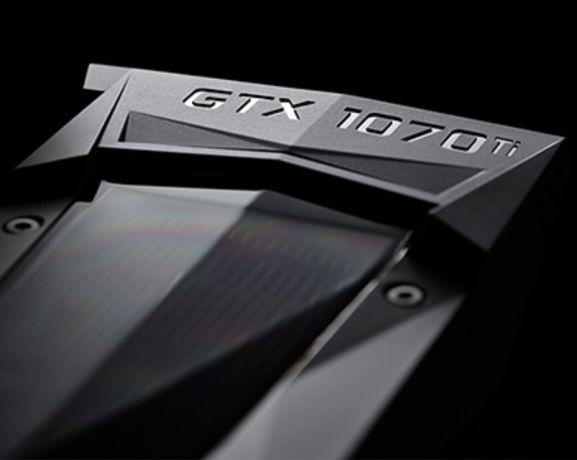 Nvidia placa gráfica/GPU GTX 1070 Ti perfeito estado
