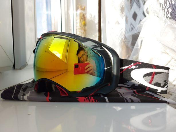 Маска очки лыжная горнолыжная OAKLEY SPLICE