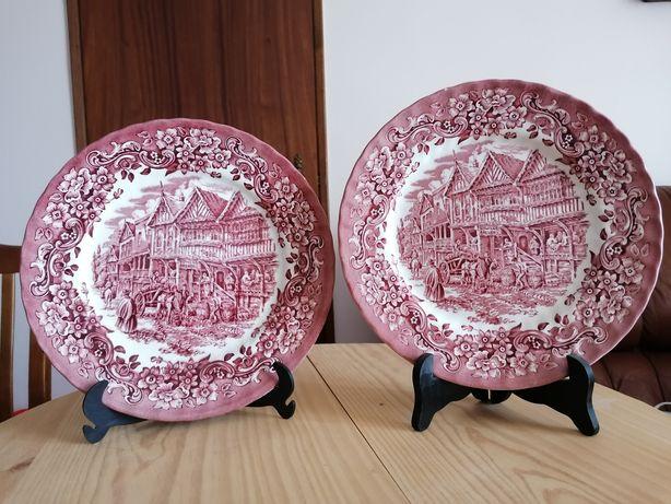 Pratos porcelana inglesa