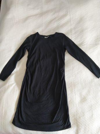 Sukienka ciążowa czarna