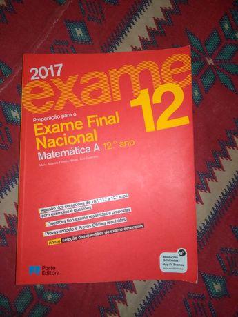 Livro de preparação para o exame nacional de matemática A