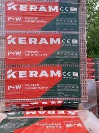 KERAM 25P+W,Pustak Ceramiczny kl 15