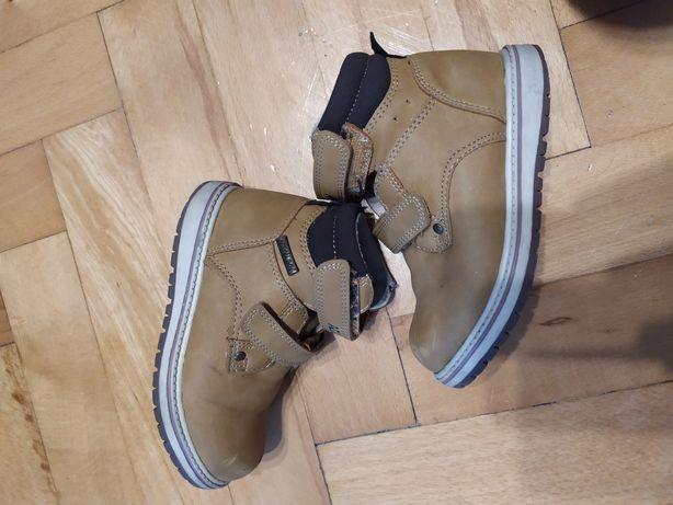 Trapery buty zimowe chłopięce CCC