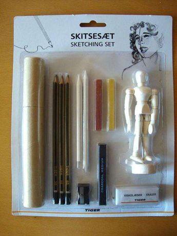 Kit para desenho anatómico NOVO, selado