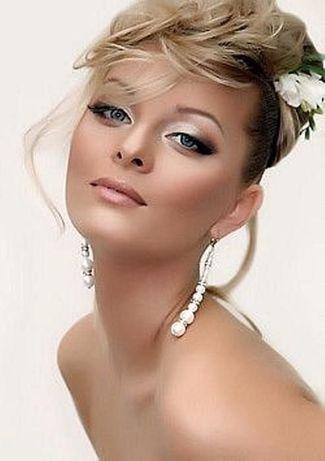 Профессиональный визаж макияж прически свадебный